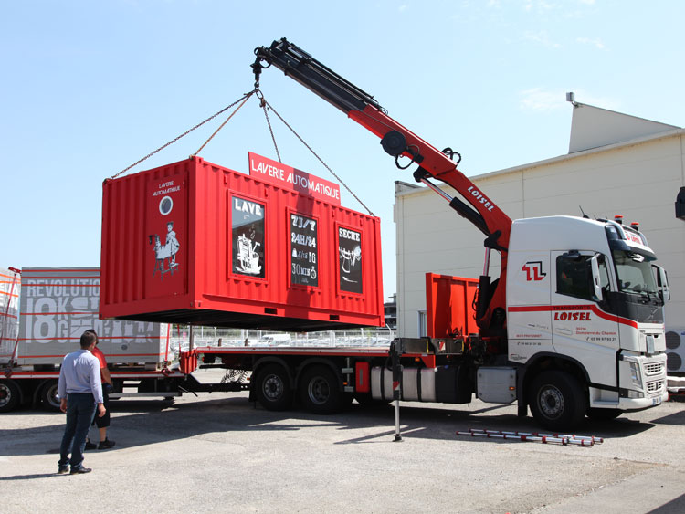 KIS expert for self-service mobile laundry