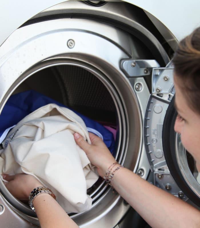 Waschanleitung zum Waschen